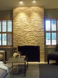 natural stone fireplace modern natural stone fireplace modern living room san