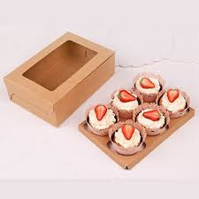 bakery boxes wholesale 10 length x 6 width x 3 1 2 height clay