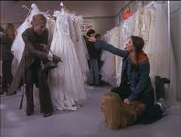 the one with the cheap wedding dress friends central fandom