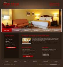 free hotel website template templatemonster