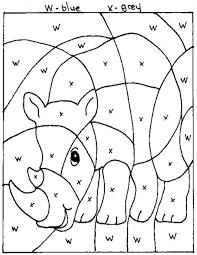 z u0027onae coloring education animals zoo animals