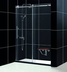 Clear Glass Shower Door by Dreamline Shdr 61607610 07 Dreamline Enigma X 56 To 60
