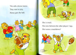 berenstain bears books fiction books berenstain bears play football the 17 level 1
