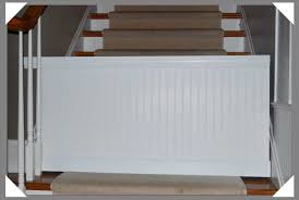 Baby Gates For Bottom Of Stairs With Banister Modern Baby Gates Modern Slat Baby Gate Sacramento Mom Blog Img