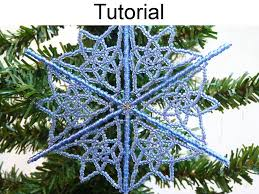 beading tutorial pattern christmas ornament holiday wire