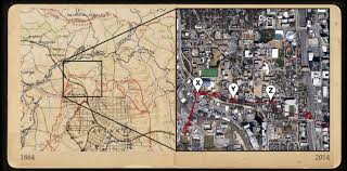 City Of Atlanta Map by History Underfoot