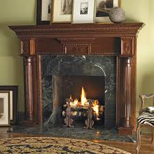 Custom Fireplace Surrounds by Heritage Custom Wood Fireplace Mantel Surround In Cherry