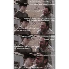 Walking Dead Meme Carl - pin by pete czajkowski on rick grimes king of dad jokes pinterest