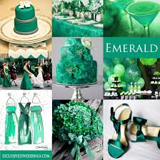 wedding colors your wedding color green exclusively weddings wedding