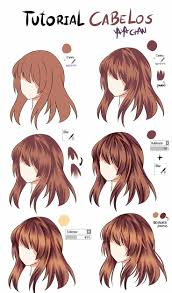 anime hairstyles tutorial 207 best anime hair tutorial images on pinterest drawing reference