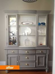 china cabinets hutches before after an outdated hutch goes cottage chic cottage chic