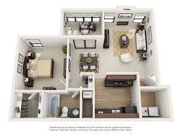 Floor Plan Of An Apartment One And Two Bedroom Apartment Floor Plans Rosemont At East Cobb