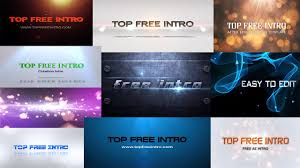 top 10 free after effects intro templates 2016 no plugins