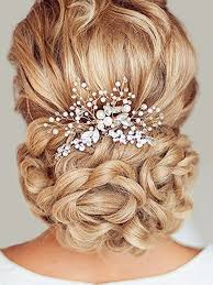 wedding hair aukmla wedding hair pins accessories for women pack