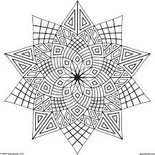 coloring pages geometric coloring pages printable geometric