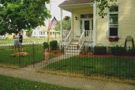 Iron Home Wrought Iron 4 Tall Fencing Metal Fence To Enclose Yards