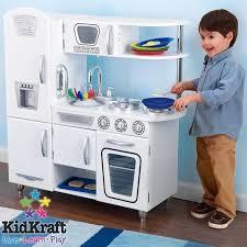cuisine vintage blanche kidkraft kidkraft cuisine enfant vintage blanche kidkraft en bois achat