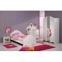 chambre fille et blanc chambre enfant complète achat chambre enfant complète pas cher