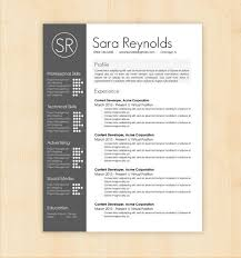 awesome resume templates resume template cv template the resume design