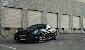 Ferrari California Gray - ferrari california riding on modulare b30 21 22