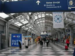 O Hare Map Terminal Workers To Strike At Chicago U0027s O U0027hare International Airport