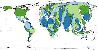 Cartogram Map Map 31