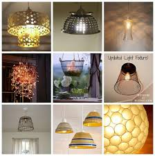 191 best upcycled repurposed lighting images on diy