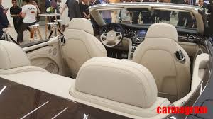 bentley sedan interior ultra exclusive bentley grand convertible by mulliner unveiled