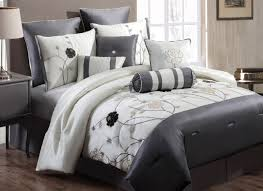Grey Comforter Sets King Help Light Gray Bedding Tags Cheap Grey Bedding Complete Bedding