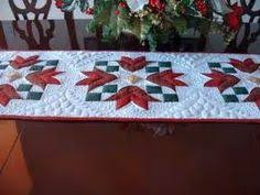 gold star table runner christmas quilted table runner red and gold stars sewing