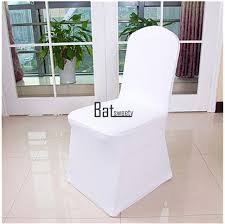 spandex chair covers 100pcs white spandex chair covers for wedding party banquet