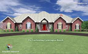 Ranch Home Designs The Enchanting Farmington Ranch House Plan