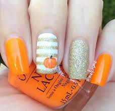 21 thanksgiving nail ideas thanksgiving nails gold glitter