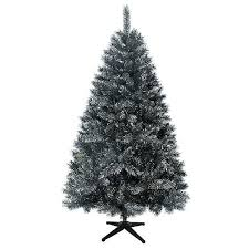 pre lit tree target black iridescent pine christmas tree 183 cm