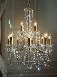 Vintage Crystal Chandeliers 771 Best French Candelabras U0026 Chandeliers Images On Pinterest