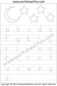 lowercase letter tracing worksheet printable worksheets