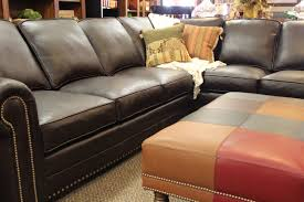 American Made Leather Sofas Bison Leather Sofa American Made Sectionals And Chaise Lounge