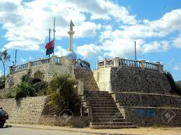 sans francisco castle monument to san francisco ocotal nicaragua stock photo picture