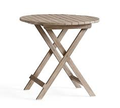 pottery barn bistro table indio bistro folding table pottery barn