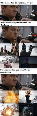 Hawkeye Meme - pin by adsnavarro on hawkeye is the best pinterest infinity war