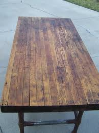 butcher block table designs awesome refinishing butcher block table f86 about remodel wow home