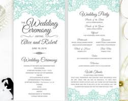 where to get wedding programs printed printed wedding programs royal blue wedding programs
