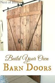 Sliding Barn Door Construction Plans Installing A Sliding Barn Door In The Home Barn Doors Barn And