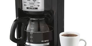 mr coffee under cabinet coffee maker bar cabinet