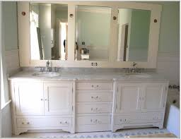 design bathroom ideas with white frames and vanity gray countertop