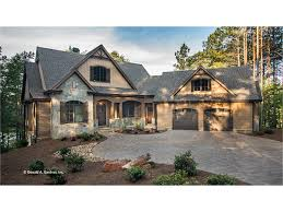ranch style home plans with basement craftsman style ranch with walkout basement hwbdo home exterior