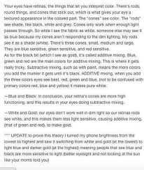 Behind Meaning What Is The Science Behind The Black And Blue Or White And Gold