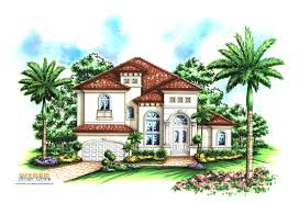 spanish house plans mediterranean style greatroom courtyard cool