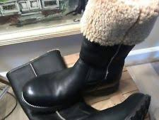womens leather motorcycle boots australia ugg australia leather waterproof motorcycle boots for ebay