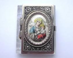 rosary cases miniature rosary etsy